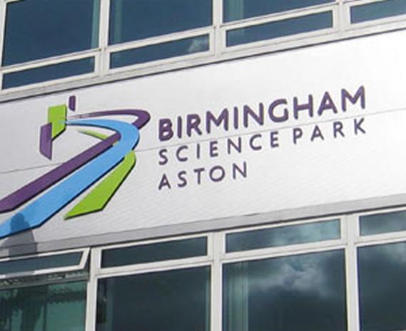 Birmingham Science Park - Branding