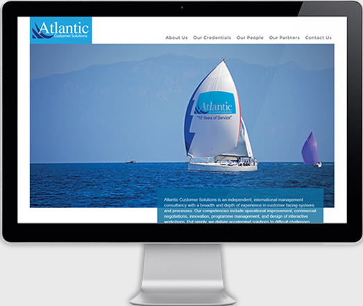 Atlantic Customer Solutions - Website Development