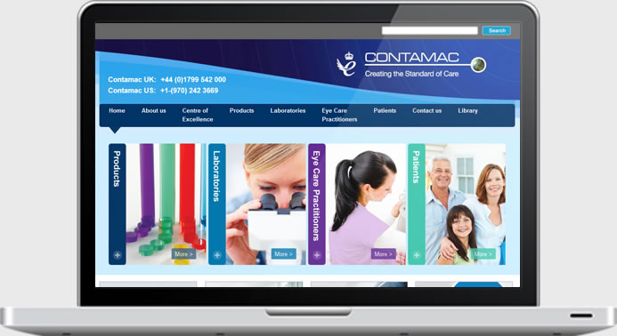 Contamac - Website Development
