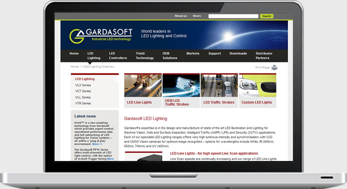 Gardasoft - Website Development