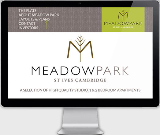 Meadow Park, St Ives - Website Development